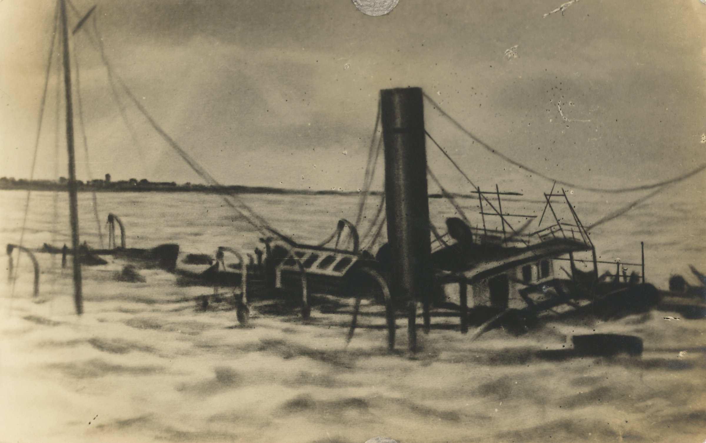 Zandvoort - Het vergaan van de Salento